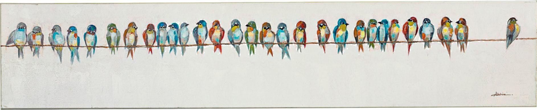 Home affaire Acrylbild auf Leinwand »Birdy«