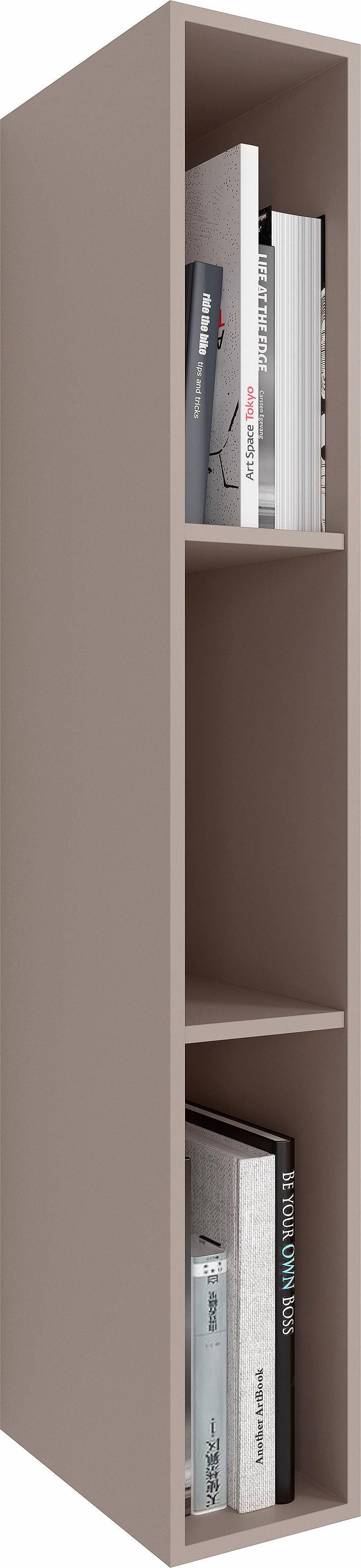 NETFURN BY GWINNER Regal »ANZIO«, Lack fango, Höhe 108 cm