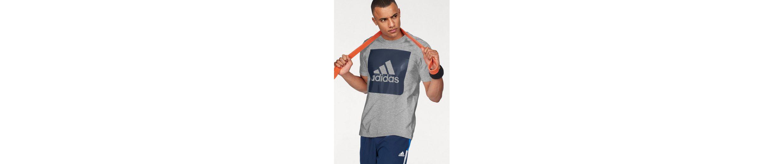 adidas Performance T-Shirt ESSENTIALS BIG BOX LOGO TEE