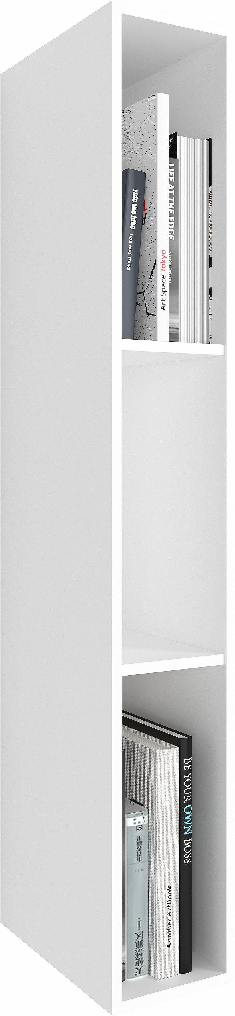 NETFURN BY GWINNER Regal »ANZIO«, Lack weiß, Höhe 108 cm