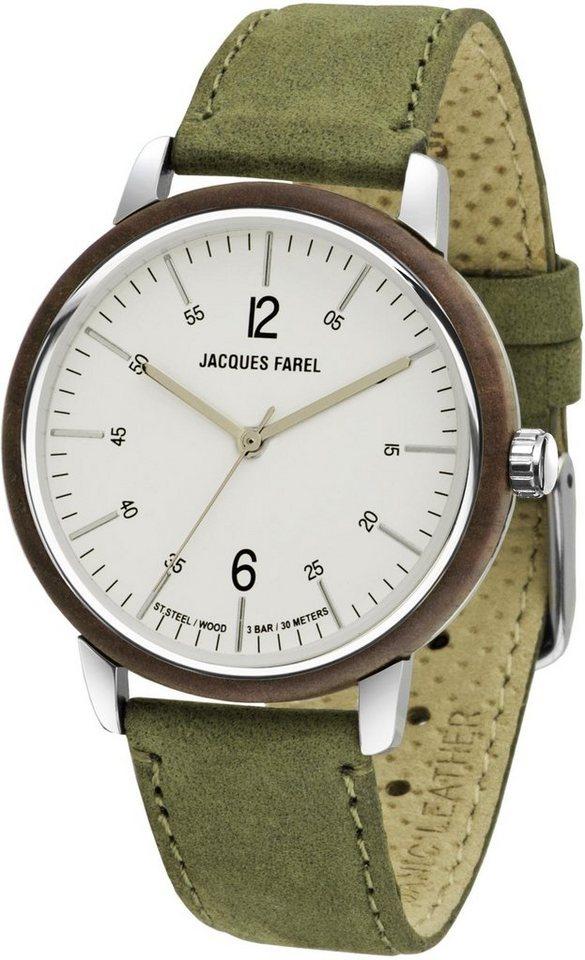 JACQUES FAREL hayfield Quarzuhr »ORW 1007« - Preisvergleich