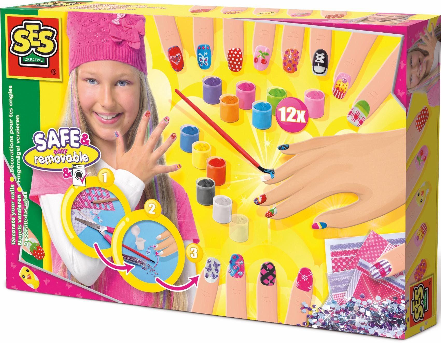 SES Creative Kreativset, »Fingernagel Designer«