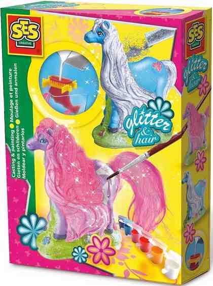 SES Creative Bastelset, »Gipsfigur Pferd mit Mähne«