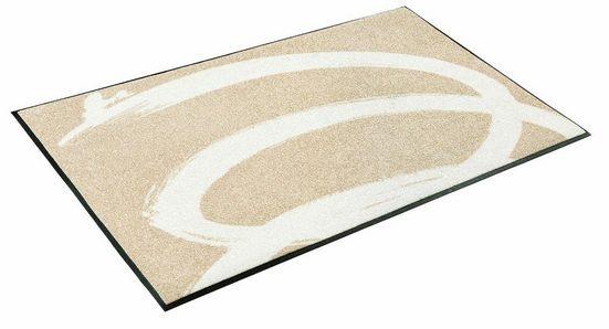 Läufer »Basic Twist«, wash+dry by Kleen-Tex, rechteckig, Höhe 7 mm