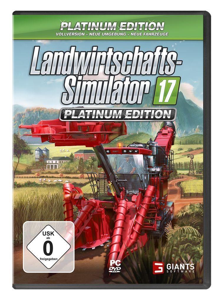 Astragon PC - Spiel »Landwirtschafts-Simulator 17: Platinum Edition«
