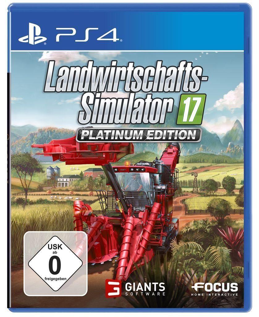 Astragon Playstation 4 - Spiel »Landwirtschafts-Simulator 17: Platinum Edition«