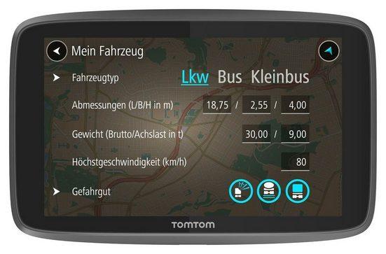 TomTom LKW-Navigationsgerät »GO Professional 6200«