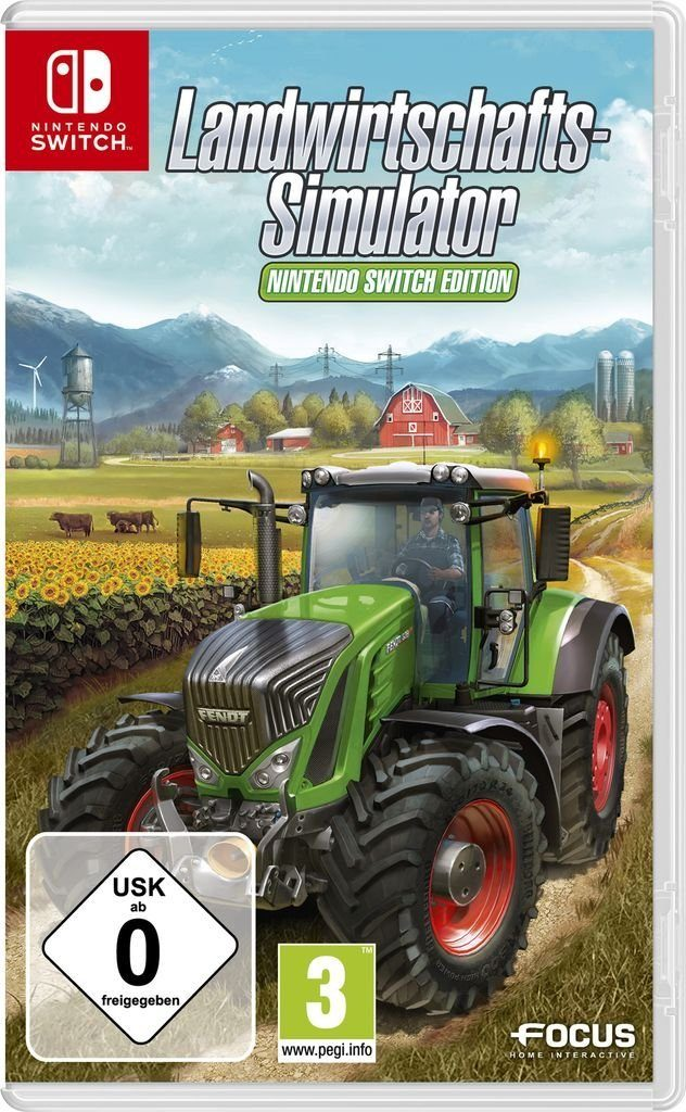 Astragon Nintendo Switch - Spiel »Landwirtschafts-Simulator: Nintendo Switch Edition«