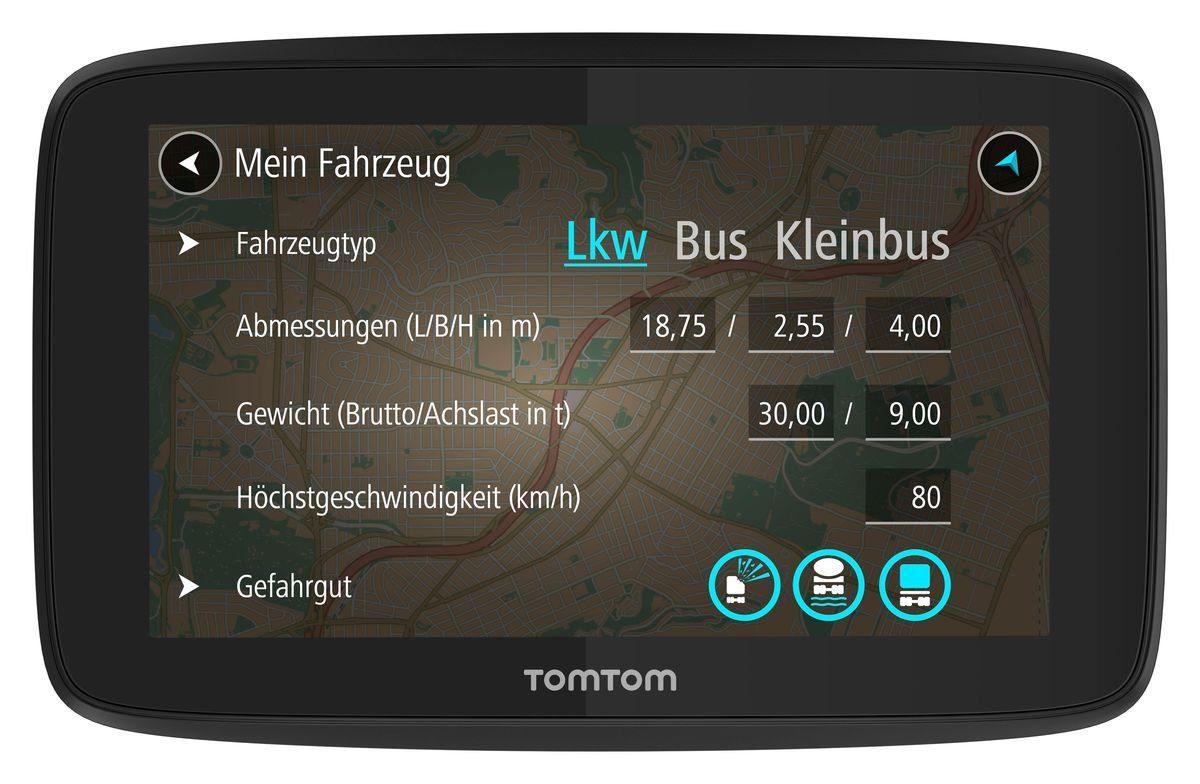 TomTom LKW-Navigationsgerät »GO Professional 520«