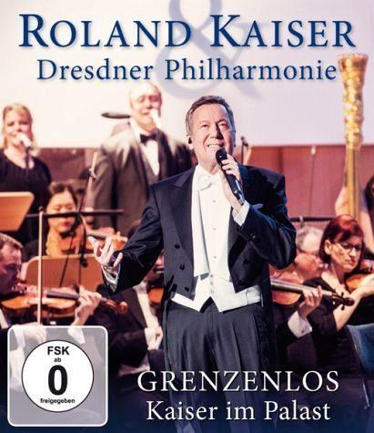 Blu-ray »Roland Kaiser - Grenzenlos: Kaiser im Palast«