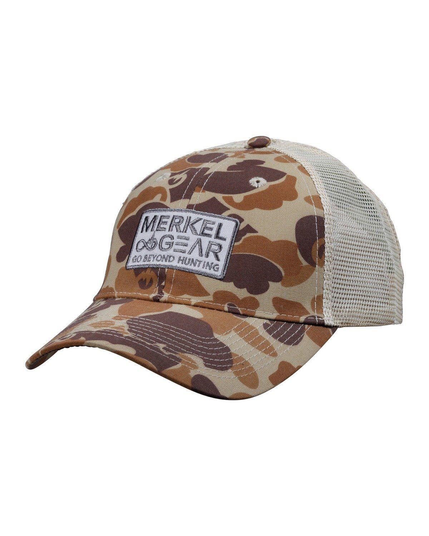 Merkel Gear Camo Mesh Cap