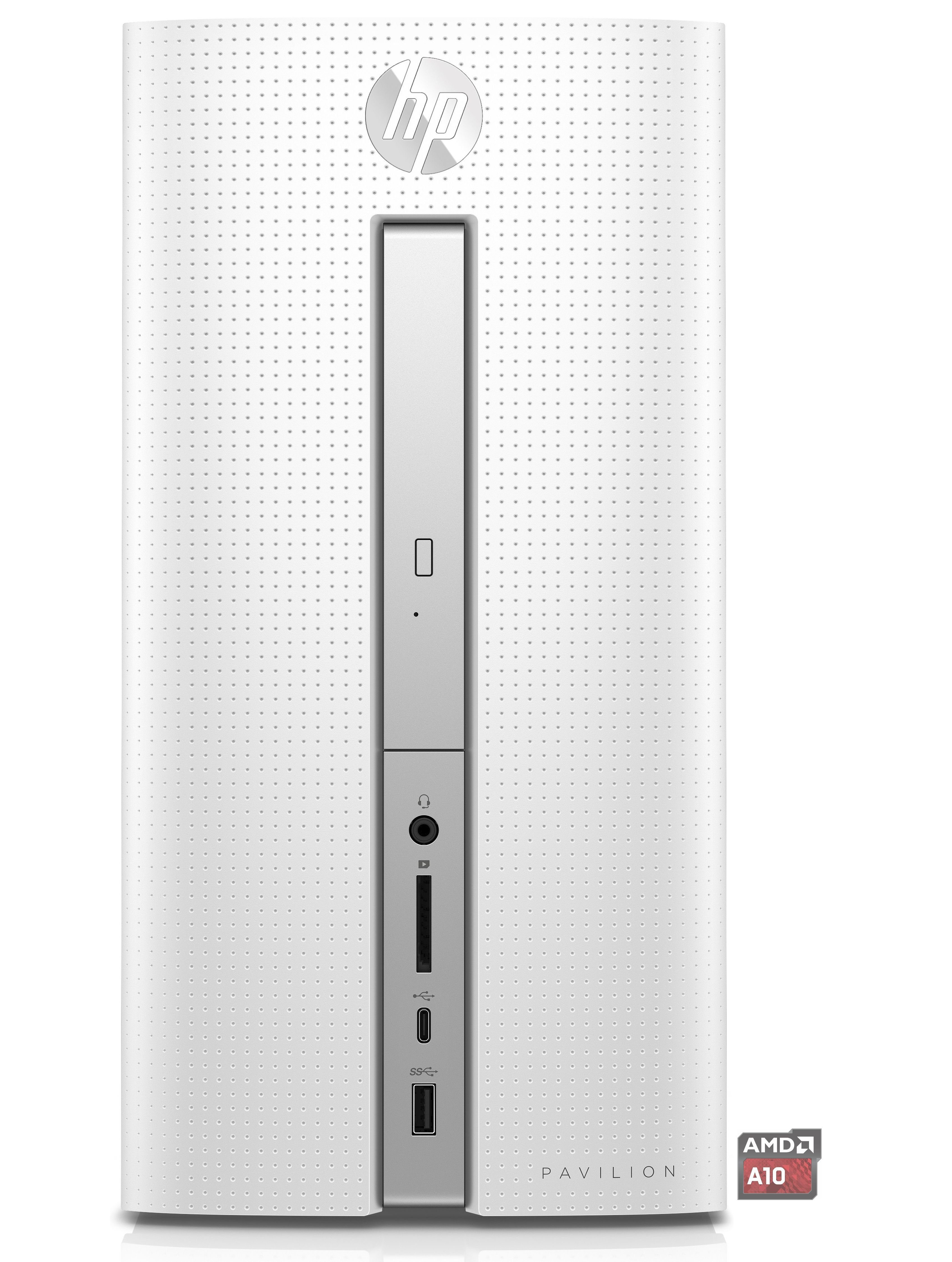 HP Pavilion Desktop PC 570-p550ng »AMD A10, R7, 1 TB HDD, 4 GB«