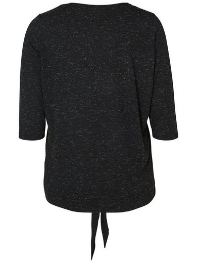 JUNAROSE 3/4-Ärmel-Bluse in taillierter Passform