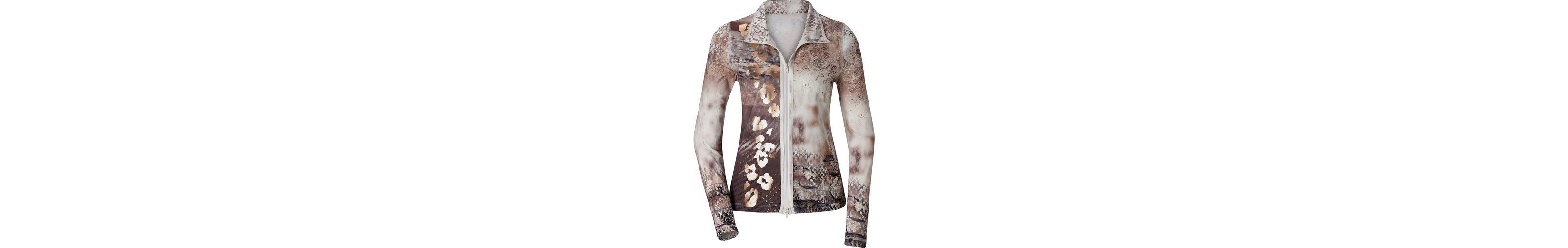 Neueste Besuchen Online Création L Shirtjacke mit schimmerndem Leo-Glanz-Druck Neueste Verkauf Neueste Freies Verschiffen Amazon t7pLQIW0