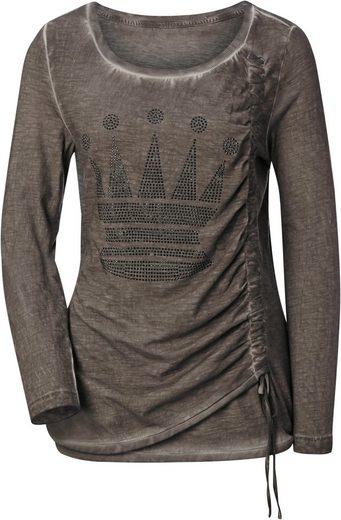 Lady Shirt in aktueller oil dyed-Optik,