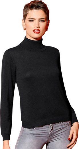 Création L Rollkragen-Pullover in Feinstrick-Qualität