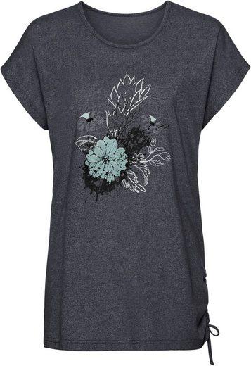 Classic Basics Shirt mit Blumen-Print