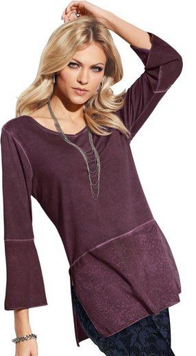 Création L Shirt im oil dyed-Verfahren gefärbt