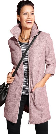 Création L Woll-Jacke mit femininer Note