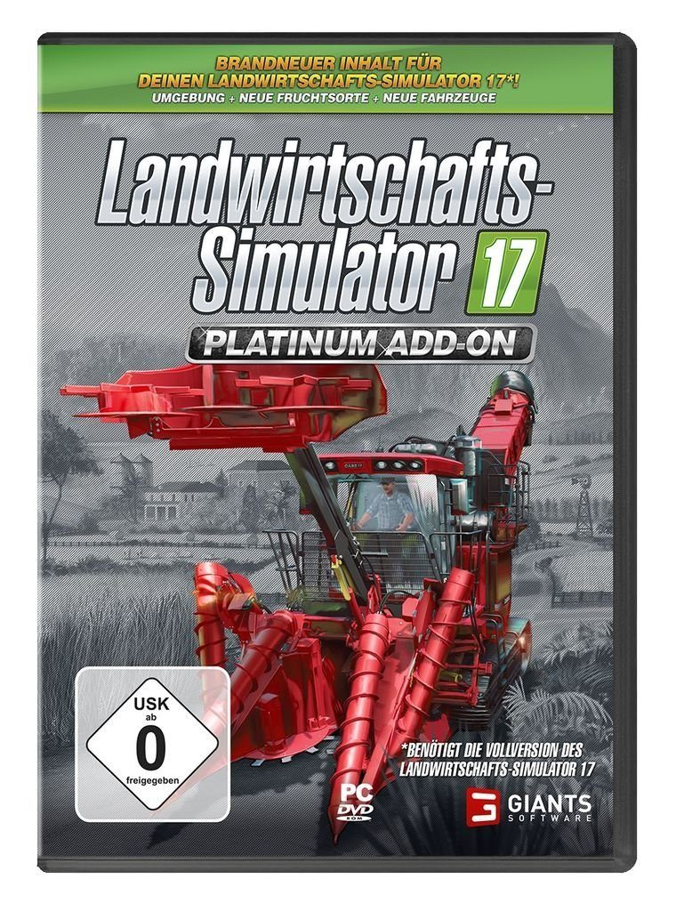 Astragon PC - Spiel »Landwirtschafts-Simulator 17: Platinum Add On«