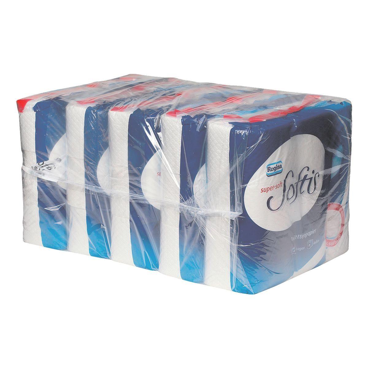REGINA Toilettenpapier 4-lagig - 45 Rollen »Softis«