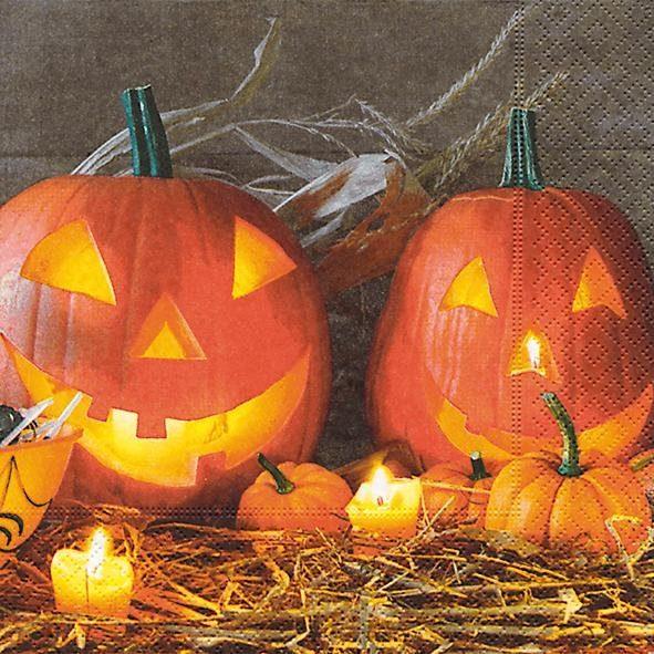 """Serviette """"Pumpkin king"""""""