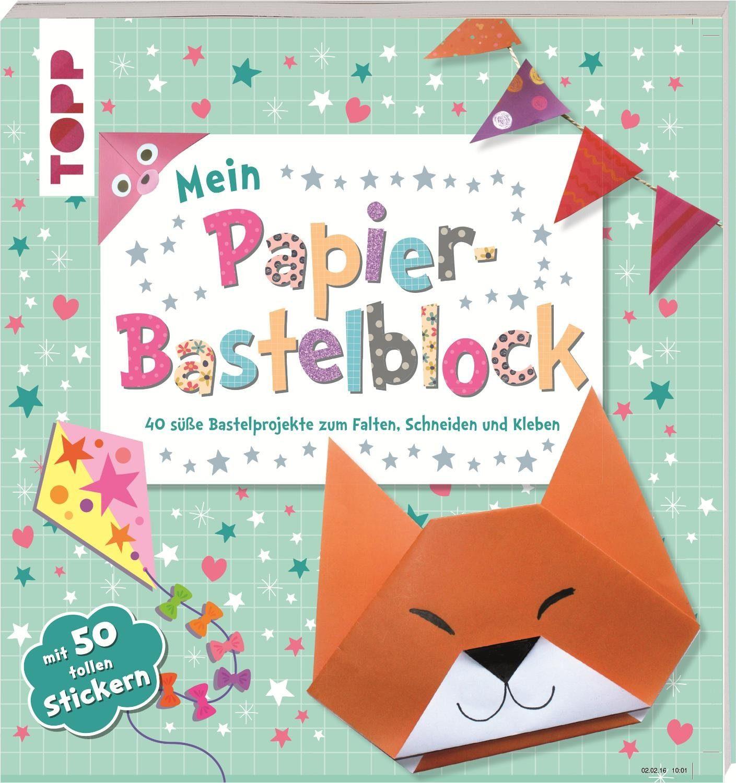 "Topp Buch ""Mein Papier Bastelblock"""
