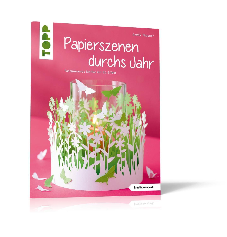 """Topp Buch """"Papierszenen durchs Jahr"""" 32 Seiten"""