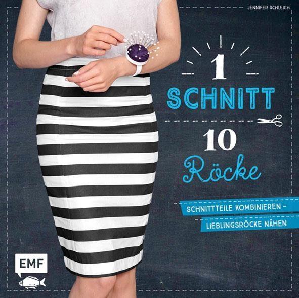 """EMF Buch """"1 Schnitt, 10 Röcke"""" 112 Seiten"""