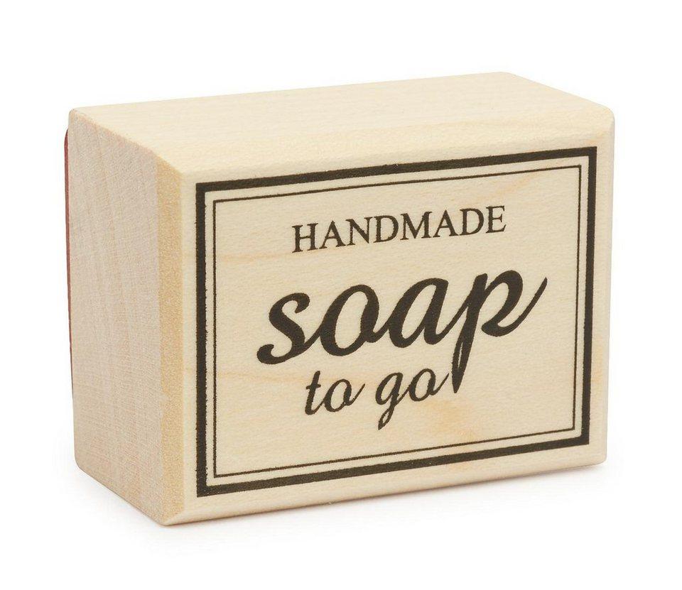 """Stempel """"Handmade -soap to go"""" online kaufen"""