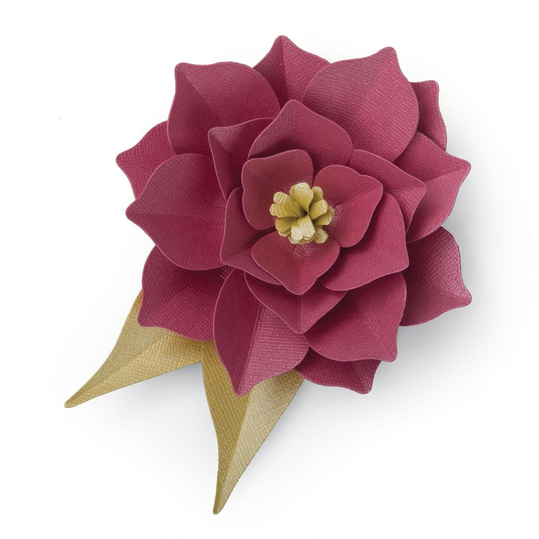 "Sizzix Thinlits Stanzschablone ""Large 3-D-Flower"" 9 Teile"