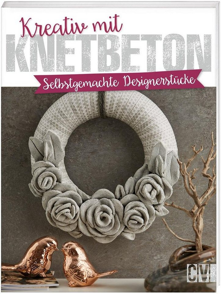 Buch kreativ mit knetbeton 64 seiten kaufen otto - Knetbeton anleitung ...