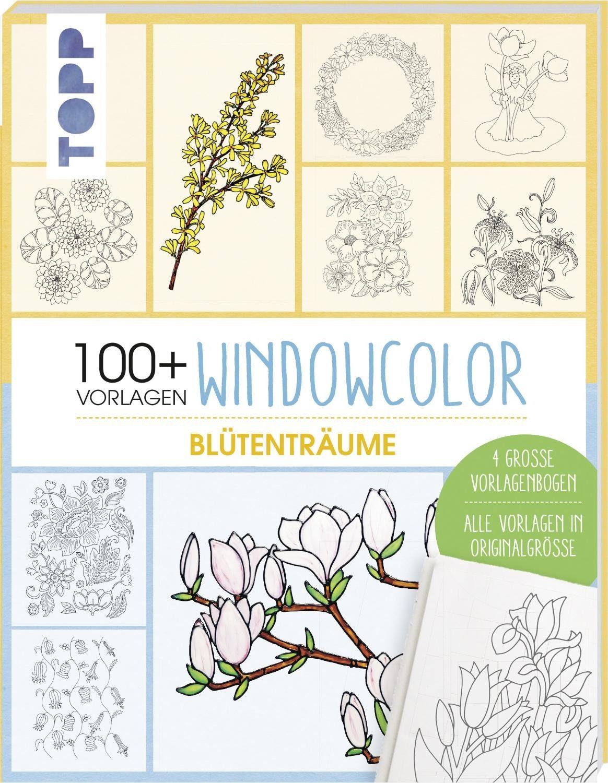 """Topp Buch """"Windowcolor Blütenträume - 100 Vorlagen"""""""