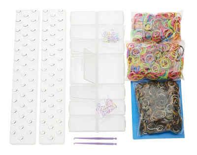 LOOM Bands ´´Friends´´ BOX ca. 1700 Gummibänder Sale Angebote Guhrow