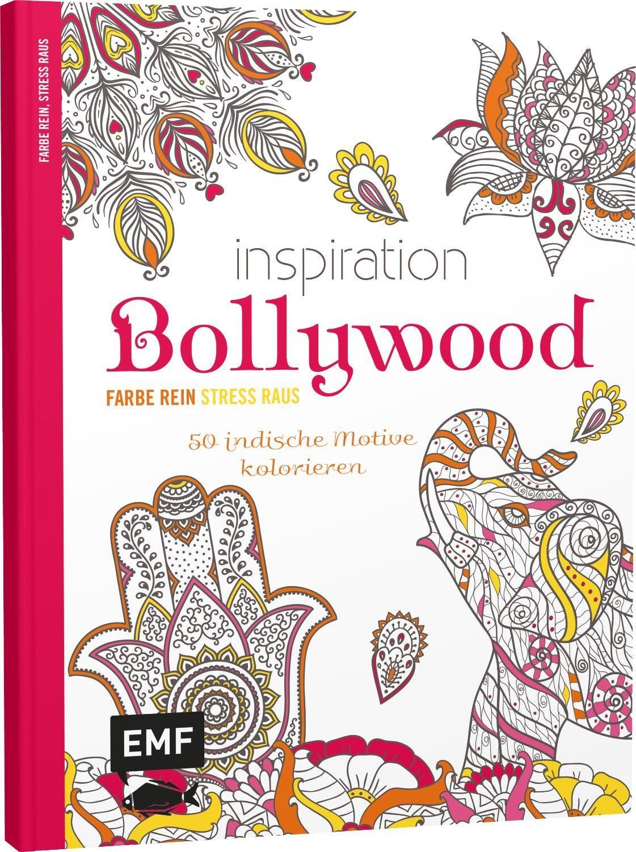 "EMF Buch ""Inspiration - Bollywood"" 64 Seiten"