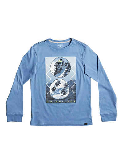 Quiksilver Longsleeve »Carbon Finish Simply«