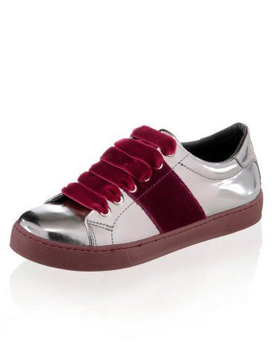 Alba Moda Sneaker mit Samtdetails