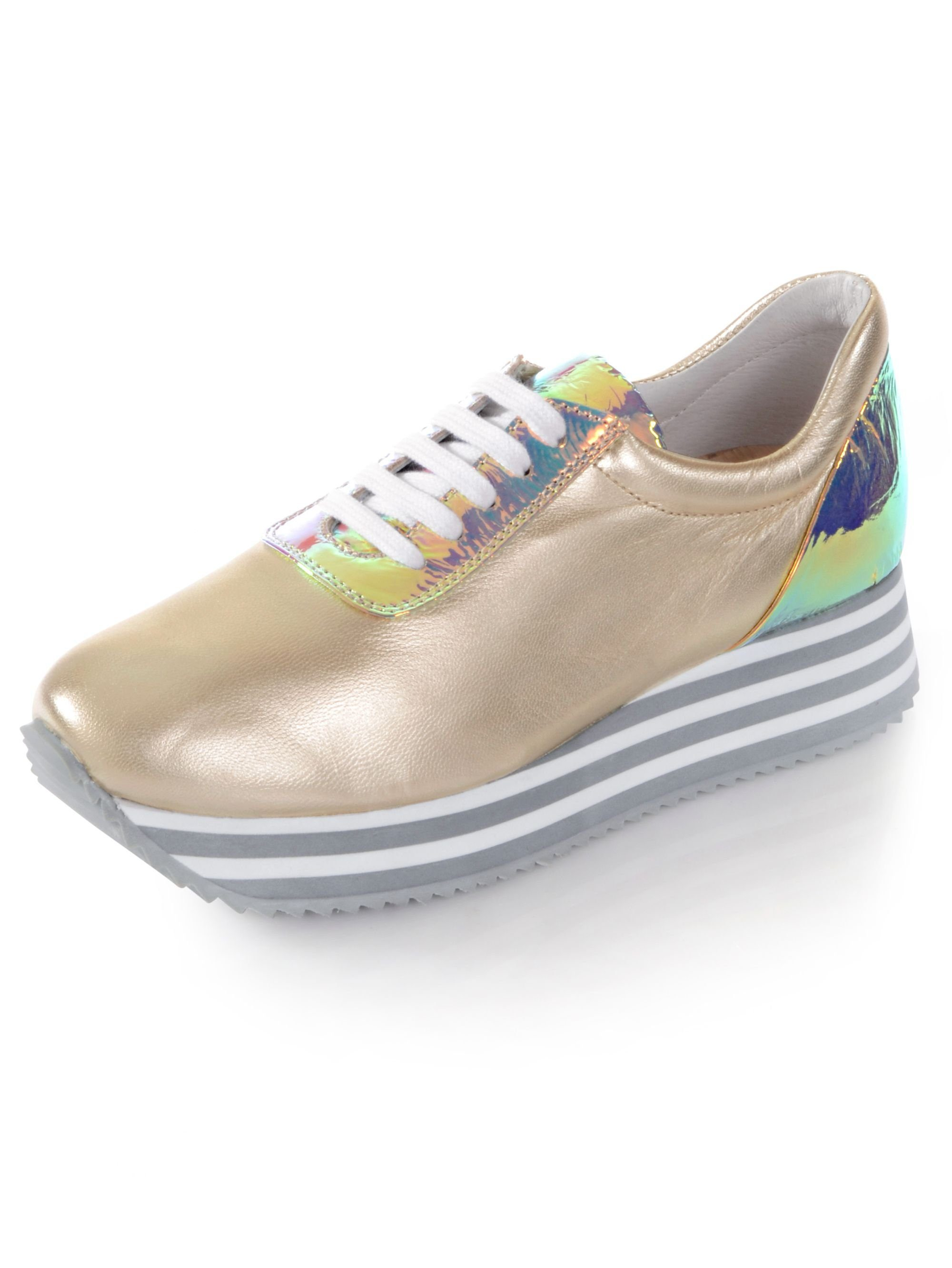 Alba Moda Sneaker im Metallic-Look online kaufen  champagner#ft5_slash#goldfb
