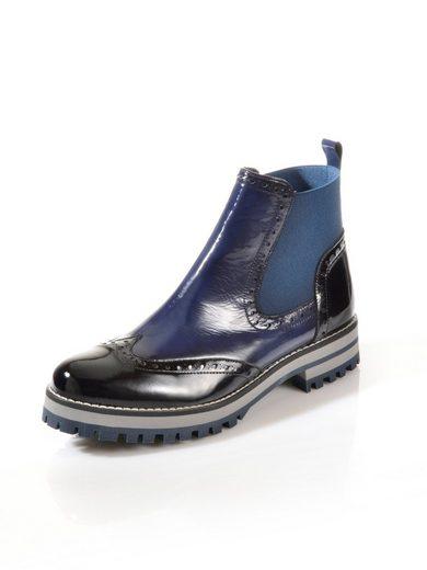 Alba Moda Lack-Boot in Chelsea-Form