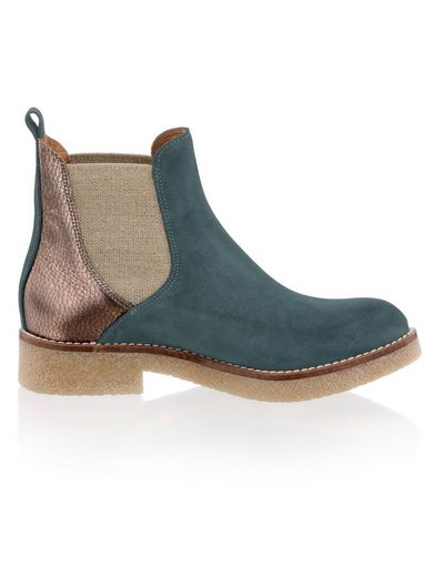 Alba Moda Chelsea-Boot in modischem Leder-Mix