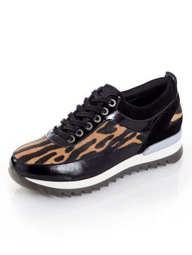 Alba Moda Sneaker im Leopardenfell-Muster
