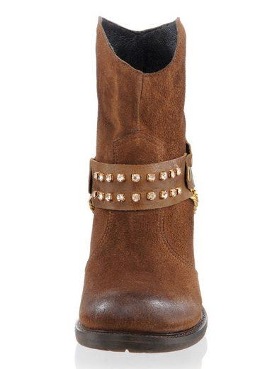 Alba Moda Stiefelette im Cowboy-Stil