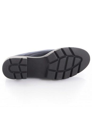 Chaussure Alba Moda Avec Laçage À Lanières En Satin