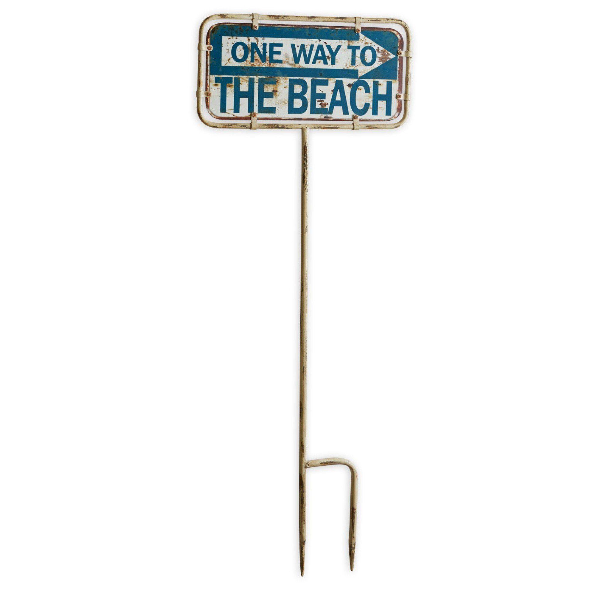 Loberon Deko-Schild »One Way«