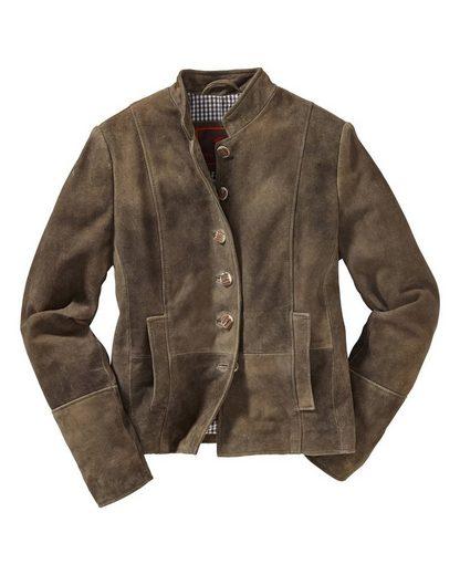 Reitmayer Jacke aus Ziegenvelours