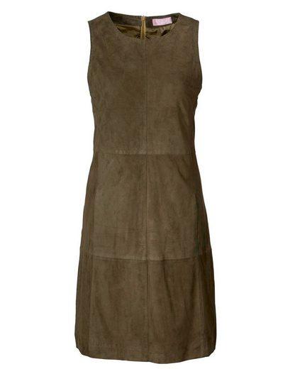 Brigitte von Schönfels Ziegenvelours-Kleid
