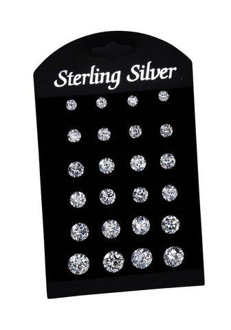 VIVANCE Auskarai »925/- Sterling Silber 12er r...