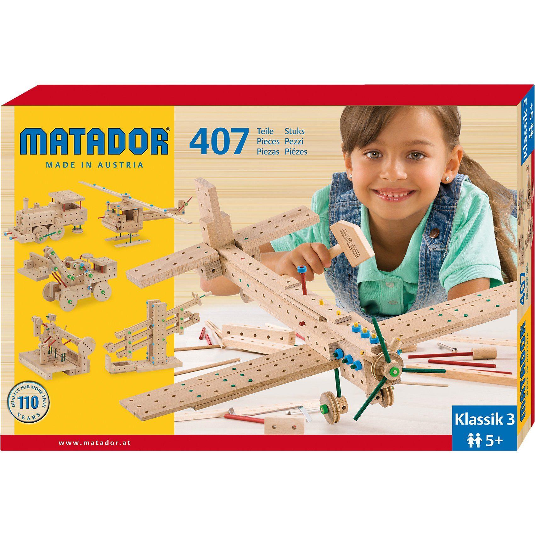Matador Klassic Nr.3, 407 Teile