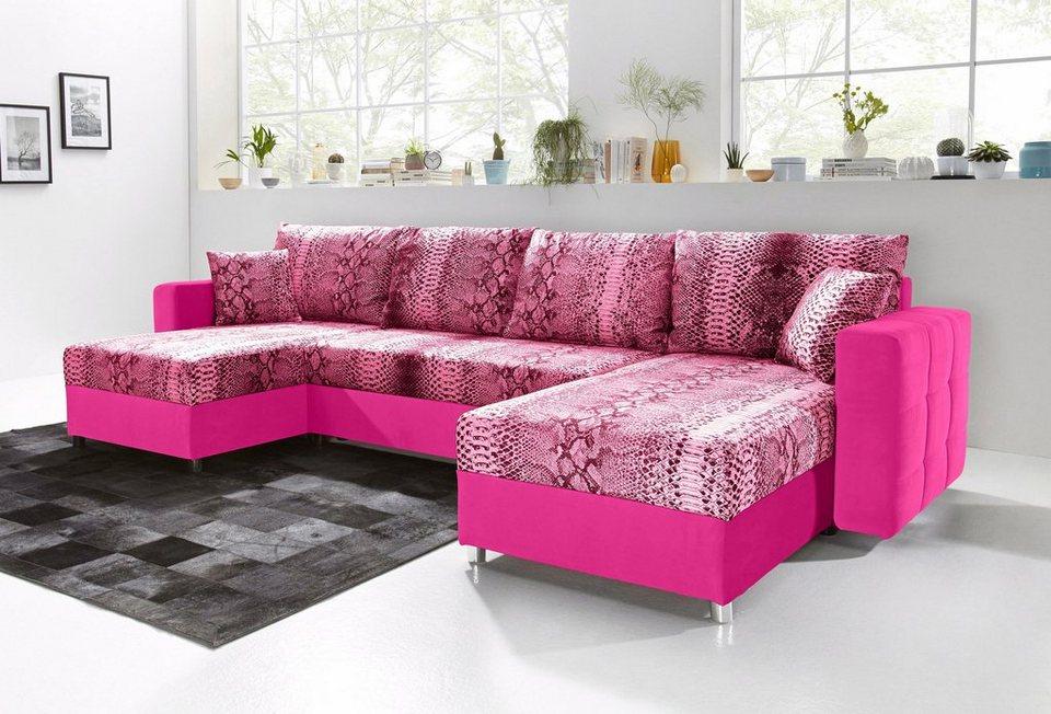 sit more wohnlandschaft mit bettfunktion kaufen otto. Black Bedroom Furniture Sets. Home Design Ideas