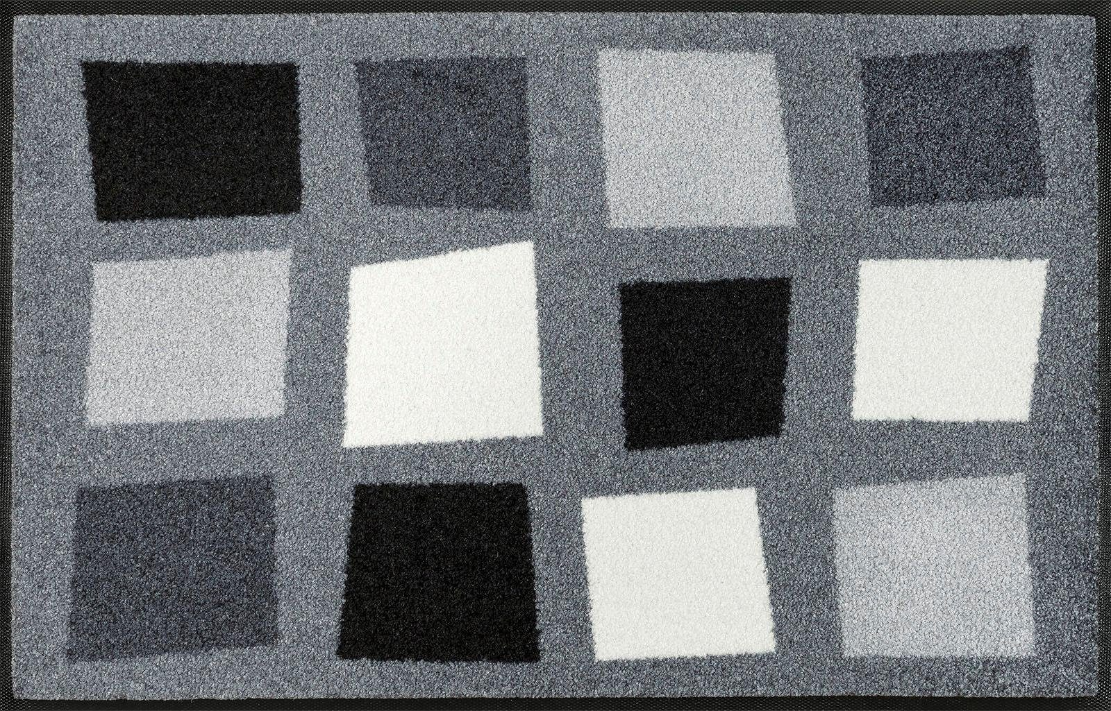 Fußmatte »Boxpark«, wash+dry by Kleen-Tex, rechteckig, Höhe 7 mm